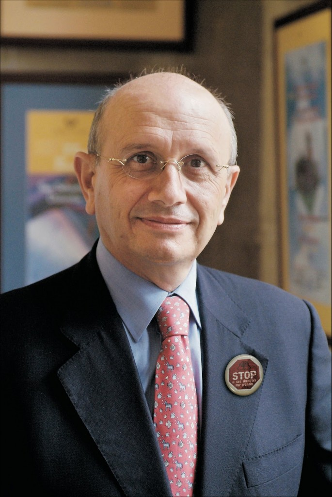 Máximo González Jurado, presidente del Consejo General de Enfermería de España