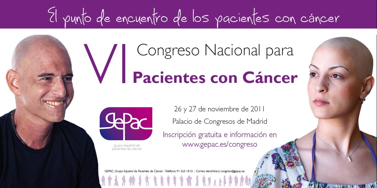 VI Congreso Nacional para Pacientes Cancer