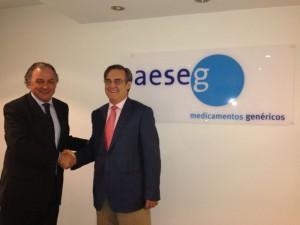Firma convenio de AESEG con la Univesidad Francisco de Vitoria