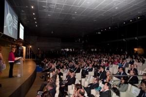 Imagen de la entrega de los Premios Fundamed-El Global 2012