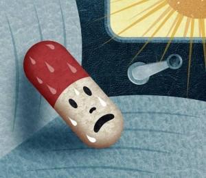 Uso adecuado medicamentos ola de calor