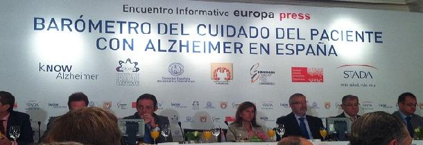 Desayuno informativo barómetro del cuidado del enfermo de alzheimer en España