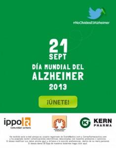 Campaña contra el alzheimer Kern Pharma