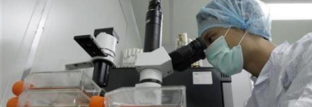 Investigador en laboratorio