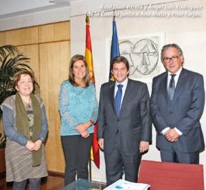 La cúpula directiva de AESEG se reúne con la ministra de Sanidad