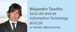 Alejandro Touriño - Socio del área de Information Technology de ECIJA