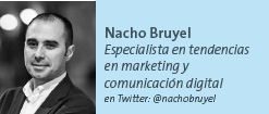 Nacho Bruyel - Especialista en tendencias en marketing y comunicación digital