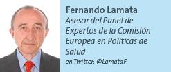 Fernando Lamata - Asesor del Panel de Expertos de la Comisión Europea en Políticas de Salud