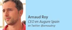 Arnaud Roy CEO en Augure Spain en Twitter: @arnaudroy