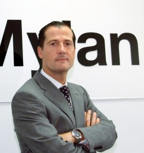 JAVIER ANITUA, director general MYLAN