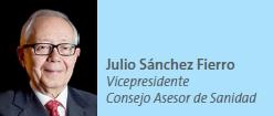 Julio Sánchez Fierro Vicepresidente Consejo Asesor de Sanidad