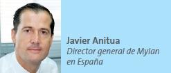 Javier Anitua Director general de Mylan en España