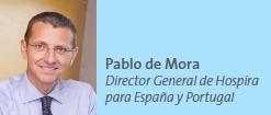 Pablo de Mora Director General de Hospira para España y Portugal