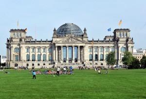 Vista exterior Parlamento de Berlín