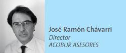 José Ramón Chávarri Director ACOBUR ASESORES