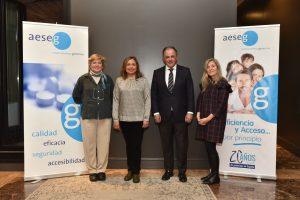equipo AESEG medicamentos genericos