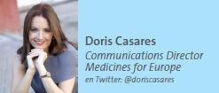 Doris Casares, Communications Director, Medicines for Europe
